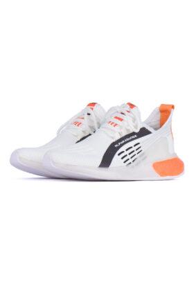 کفش ورزشی مردانه طرح adidas سفید 678