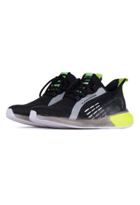 کفش ورزشی مردانه طرح adidas مشکی 679