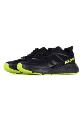 کفش ورزشی مردانه طرح salomon مشکی 681