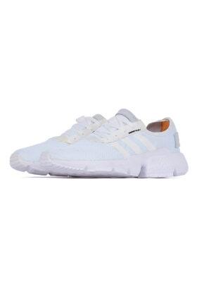 کفش ورزشی مردانه طرح adidas سفید 674