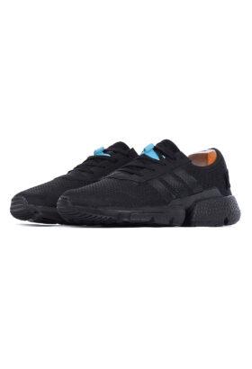 کفش ورزشی مردانه طرح adidas مشکی 675