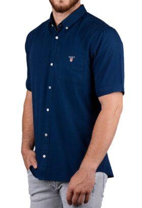 پیراهن آستین کوتاه مردانه GANT سرمهای 2120