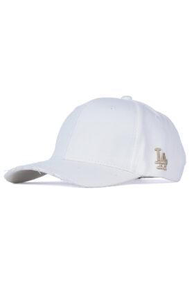 کلاه مردانه کتان سفید مدل 429