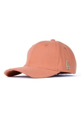 کلاه مردانه کتان نارنجی مدل 426