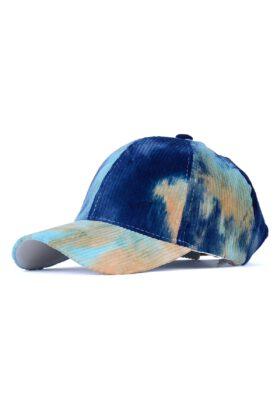 کلاه مردانه مخمل کبریتی آبرنگی مدل 434