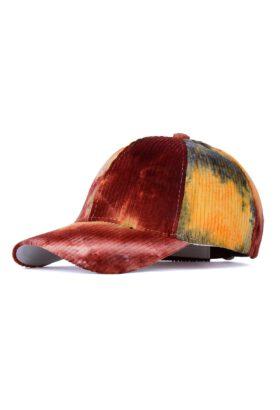 کلاه مردانه مخمل کبریتی آبرنگی مدل431