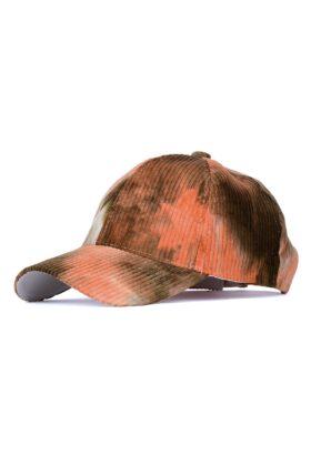 کلاه مردانه مخمل کبریتی آبرنگی مدل 435