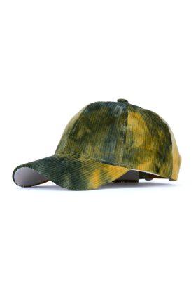 کلاه مردانه مخمل کبریتی آبرنگی مدل432