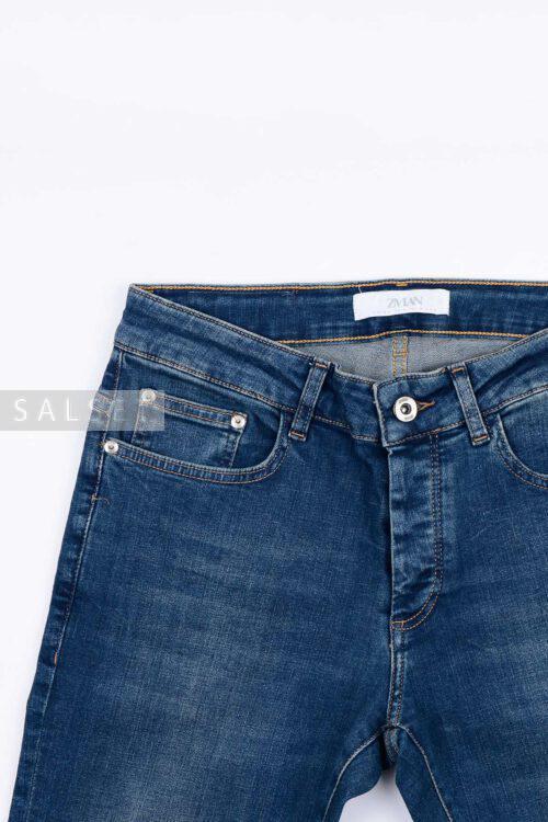 شلوار جین مردانه اسکینی ZARA آبی تیره مدل 685
