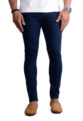 شلوار جین مردانه اسکینی Pull&Bear سرمه ای مدل 686