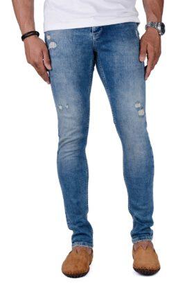 شلوار جین مردانه اسکینی ZARA آبی مدل 684