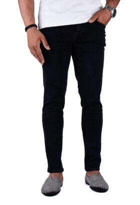 شلوار جین مردانه اسکینی Pull&Bear ذغالی مدل 687
