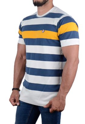 تیشرت مردانه کلاسیک Pop زرد 2163