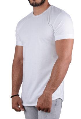 تیشرت مردانه ZARA سفید 2219