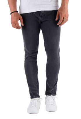 شلوار جین مردانه اسکینی Bershka ذغالی مدل 698