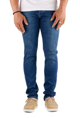 شلوار جین مردانه راسته Pull&Bear آبی تیره