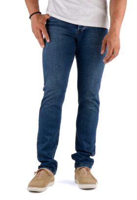 شلوار جین مردانه راسته Calvin Klein آبی تیره مدل 701