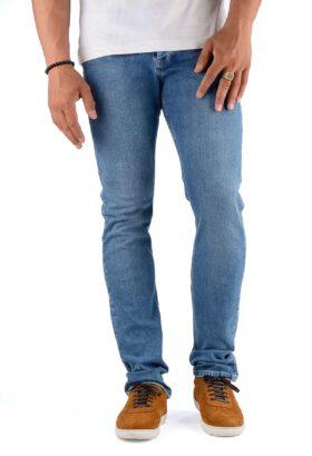 شلوار جین مردانه راسته Calvin Klein آبی مدل 699