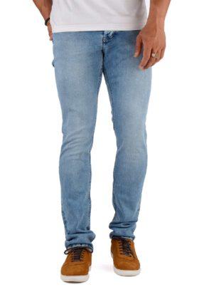 شلوار جین مردانه راسته Calvin Klein آبی روشن مدل 700
