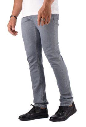 شلوار جین مردانه راسته Metas طوسی