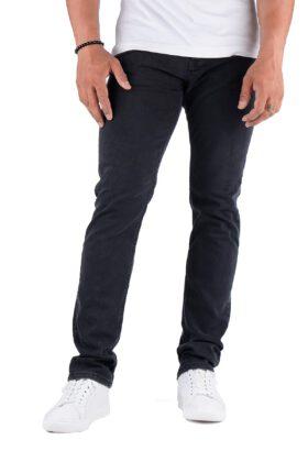 شلوار جین مردانه راسته Calvin Klein ذغالی مدل 702