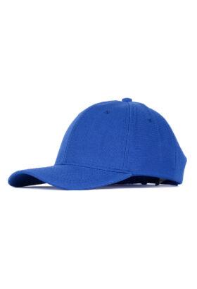 کلاه مردانه کتان آبی مدل 447