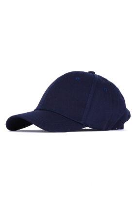 کلاه مردانه کتان سرمه ای مدل 452
