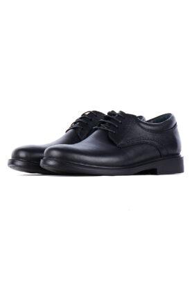 کفش رسمی مردانه چرم طبیعی مشکی 715