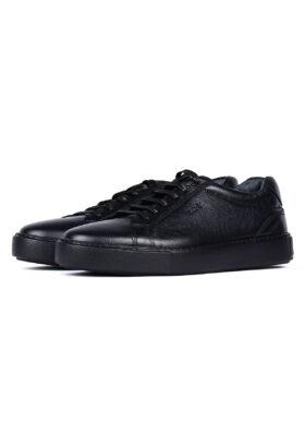 کفش روزمره مردانه چرم طبیعی مشکی