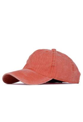 کلاه مردانه کتان نارنجی مدل 458