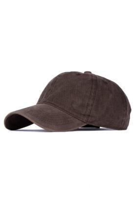کلاه مردانه کتان قهوهای