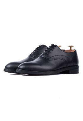 کفش رسمی مردانه چرم طبیعی مشکی
