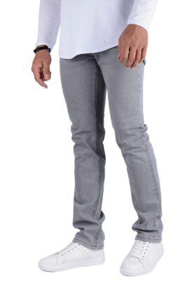 شلوار جین مردانه کلاسیک Wrangler طوسی